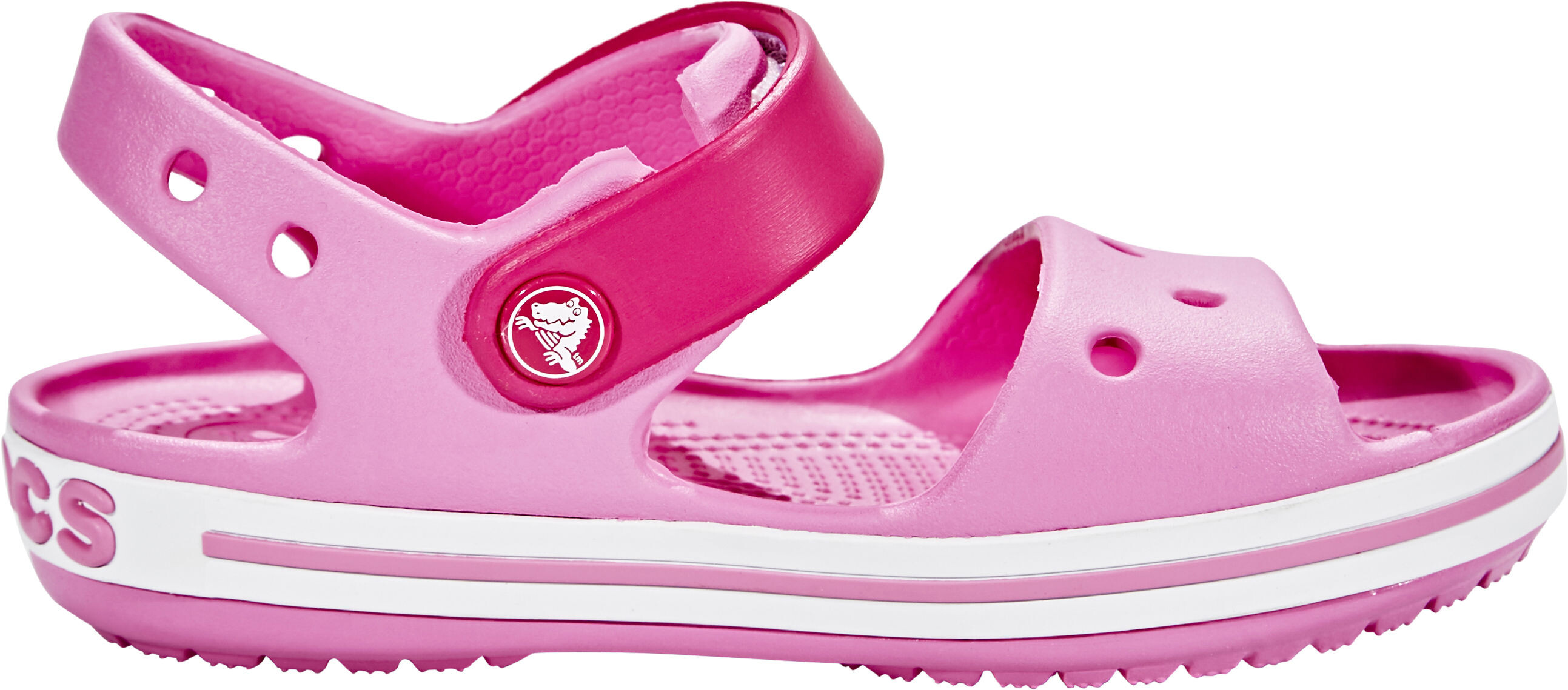 85cac5c8daa9 Crocs Crocband Sandals Kids candy pink party pink at Addnature.co.uk